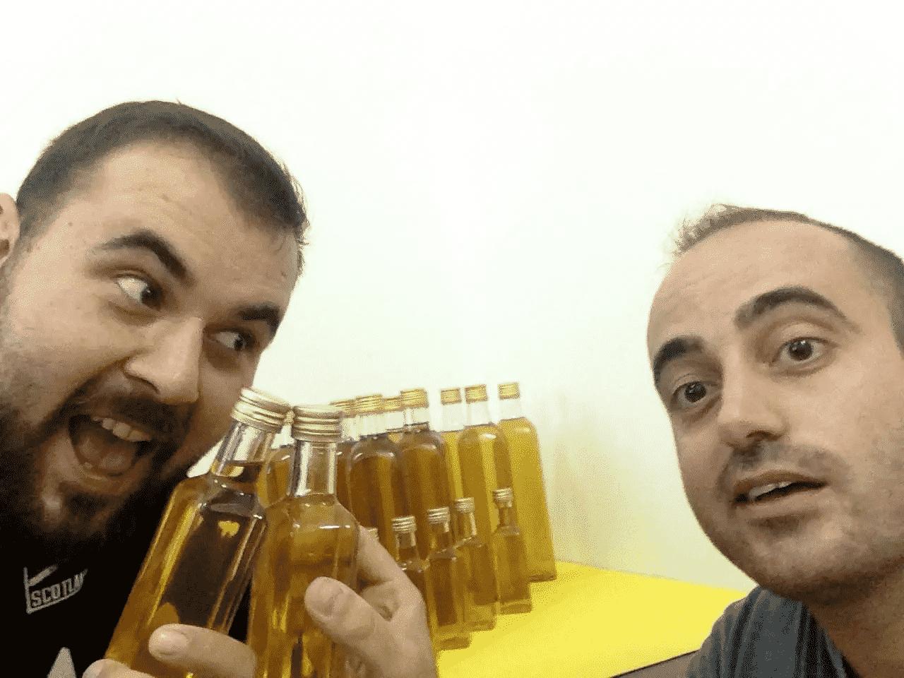 Liquore Genziana artigianale abruzzese